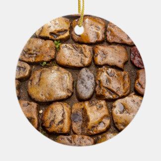cobble ceramic ornament
