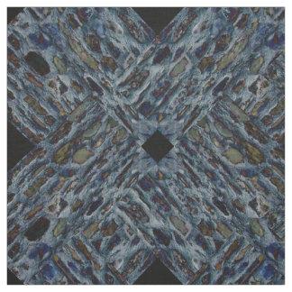 Cobble Design Combed Cotton Fabric