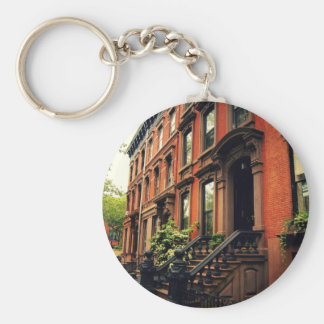 Cobble Hill Brownstone Keychain