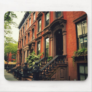 Cobble Hill Brownstone Mouse Pad