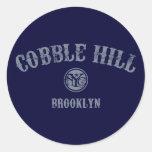 Cobble Hill Round Stickers