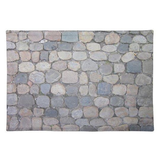 Cobble Stone Cloth Placemat