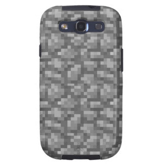 Cobble Voxel Galaxy S3 Cases