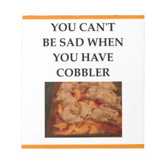 COBBLER NOTEPAD