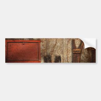 Cobbler - The shoe shiner 1900  Bumper Sticker