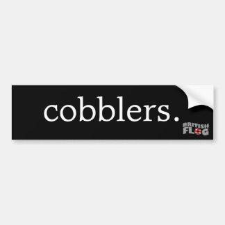 Cobblers - British slang Bumper Sticker