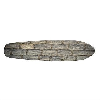 cobblestone bomber custom skate board