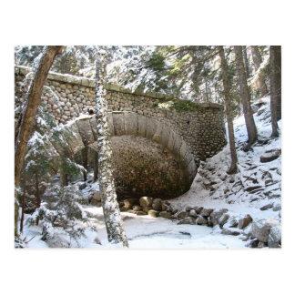 Cobblestone Bridge, Acadia National Park, Maine Postcard