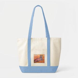 Cobblestone Cat Tote Bag