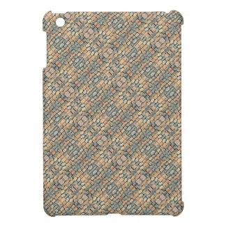 Cobblestone Geometric Texture Cover For The iPad Mini