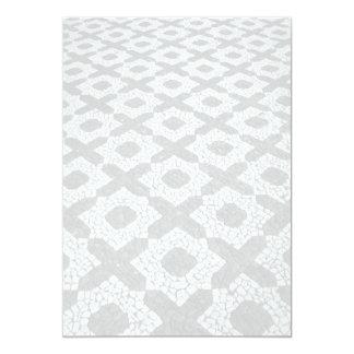 Cobblestone patterns card
