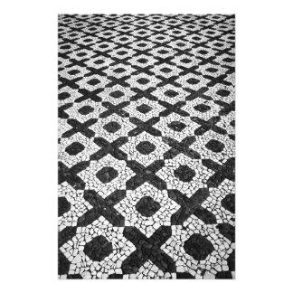 Cobblestone patterns photo print