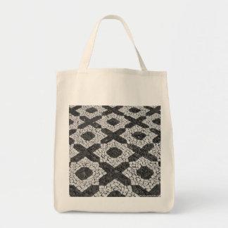 Cobblestone patterns tote bag