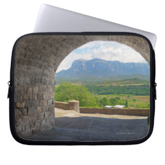 Cobblestone road, Pyrenees mountains Computer Sleeve