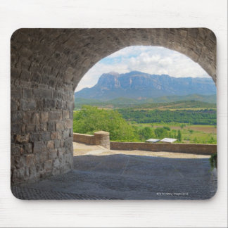 Cobblestone road, Pyrenees mountains Mouse Pad