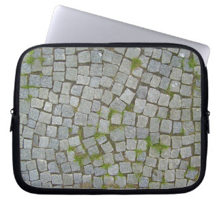 Cobblestone Road Texture Background Computer Sleeve