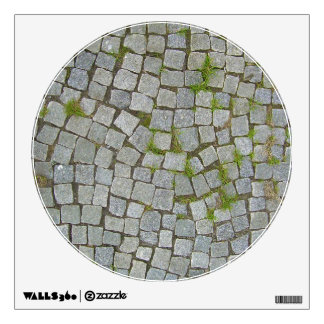 Cobblestone Road Texture Background Wall Decal