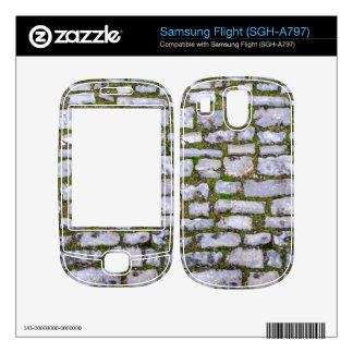 Cobblestone Samsung Flight Skin