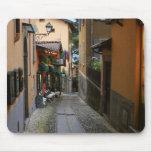 Cobblestone Street at Bellagio Mouse Pad