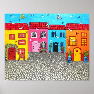 Cobblestone Streets of Sardinia #2 Poster
