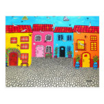 Cobblestone Streets of Sardinia Post Cards