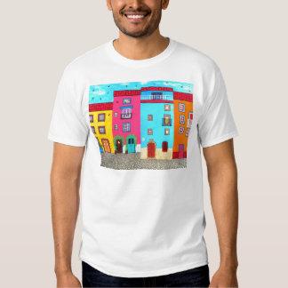 Cobblestone Streets of Sardinia Tee Shirt