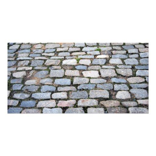 Cobblestone Streets Photo Card