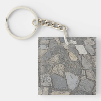 Cobblestones - Charm of Old Streets & Pathways Keychain