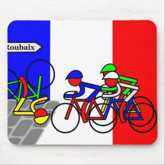 Cobblestones near Roubaix - Tour de France Mouse Pad