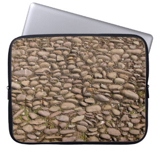 Cobblestones Stable Courtyard Cotehele Cornwall UK Laptop Computer Sleeves