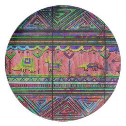 """Cobertor Nativ"" Plate"
