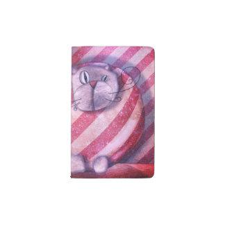 """Cobertura proteger-cuaderno """"Gato embalado """" Funda Para Libreta Y Libreta Pequeña Moleskine"""