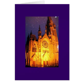 Cobh Ireland Cathedral Card