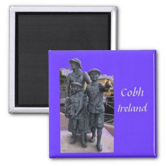 Cobh, Ireland Statues Magnet