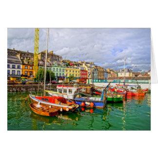 Cobh Port in Ireland Card