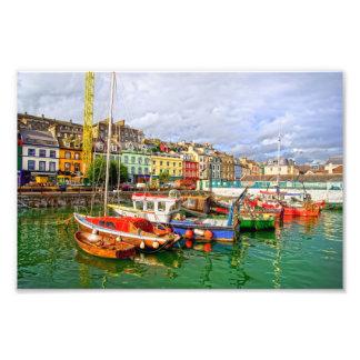 Cobh Port in Ireland Photo Print