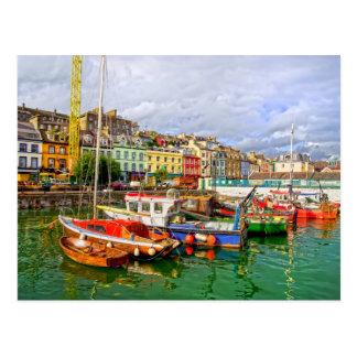 Cobh Port in Ireland Postcard