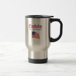 Coble for Congress Patriotic American Flag Travel Mug