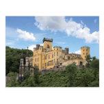 Coblenza, Alemania, castillo de Stolzenfels, Schlo Tarjeta Postal