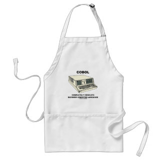 COBOL Completely Obsolete Business-Oriented Lang. Adult Apron