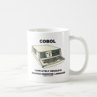 COBOL Completely Obsolete Business-Oriented Lang. Mugs