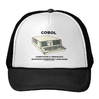 COBOL Completely Obsolete Business-Oriented Lang. Trucker Hat