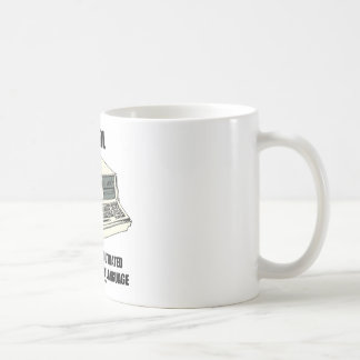 COBOL Cumbersome Outdated Badly Organized Language Coffee Mugs