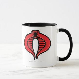 Cobra Black and Red Badge Mug
