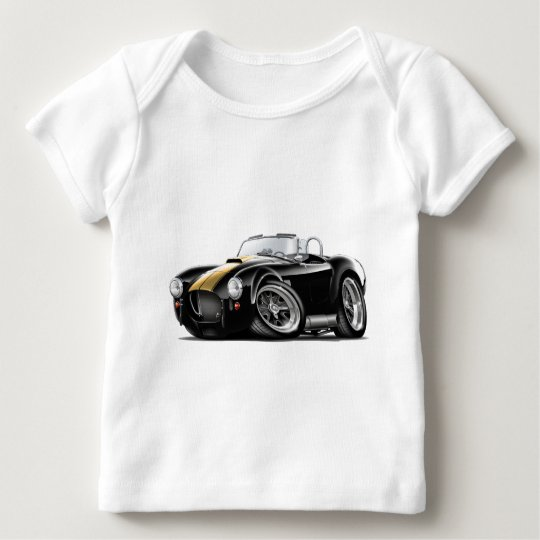 Cobra Black-Gold Car Baby T-Shirt