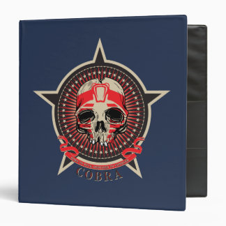 Cobra -Born to Rule, Destined to Conquer 3 Ring Binder