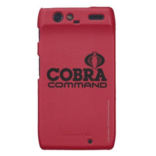 Cobra Command Motorola Droid RAZR Case