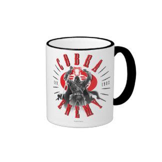 Cobra Commander Biker Badge Ringer Mug