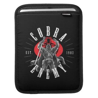 Cobra Commander Biker Badge Sleeve For iPads