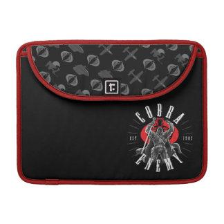 Cobra Commander Biker Badge Sleeve For MacBook Pro
